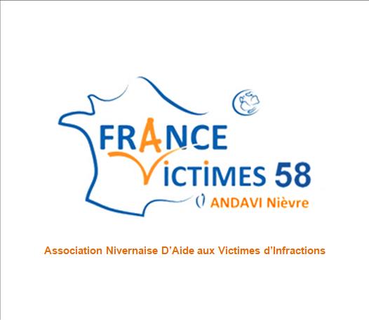 Logo ANDAVI - FRANCE VICTIMES 58