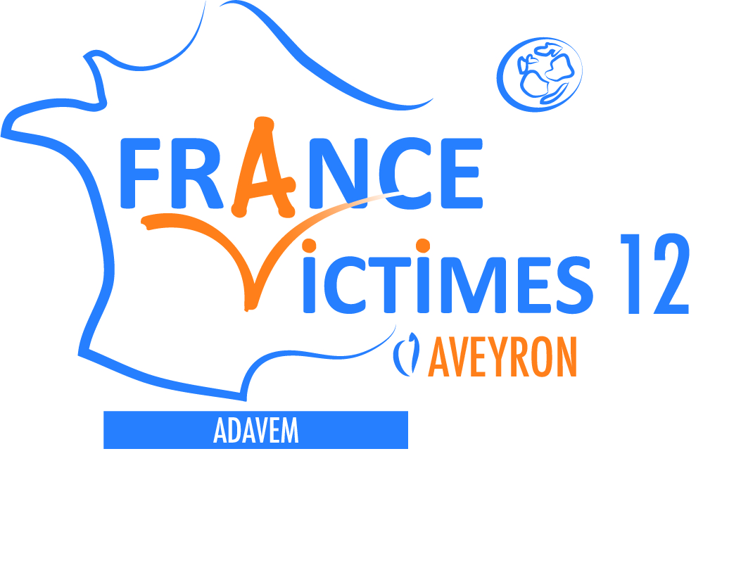 Logo FRANCE VICTIMES 12 - ADAVEM